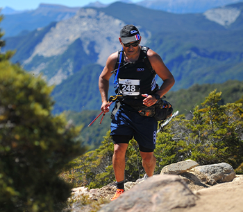 Phillip Roth Fundraises at Old Ghost Ultra Challenge